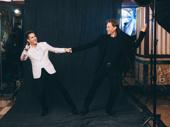 Director/choreographer Andy Blankenbuehler and set designer David Korins