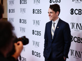 Dear Evan Hansen scribe Steven Levenson flashes a smile for his first Tony nomination.