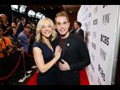 Mother and son! Dear Evan Hansen Tony nominees Rachel Bay Jones and Ben Platt are all smiles.