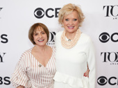 War Paint Tony nominees Patti LuPone and Christine Ebersole get glam for the press.