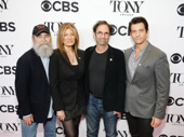 Groundhog Day producers Michael David, Lia Vollack, scribe Danny Rubin and Andy Karl celebrate their Tony noms.