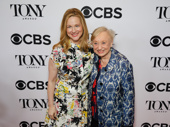 The Little Foxes' Laura Linney and costume designer Jane Greenwood celebrate their Tony nominations.