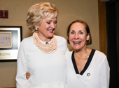 Tony-nominated leading ladies Christine Ebersole and Laurie Metcalf  celebrate their nods.