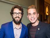 First-time Tony nominees Josh Groban and Ben Platt snap a pic.