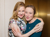 Tony nominees Laura Linney and Jennifer Ehle get cozy.