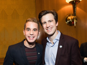 Broadway boys Ben Platt and Gavin Creel take a photo.