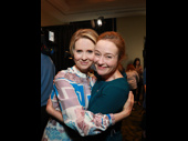 A Quiet Passion co-stars and 2017 Tony nominees Cynthia Nixon and Jennifer Ehle hug it out.