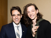 Dear Evan Hansen Tony nominees Steven Levenson and Mike Faist are amped for their noms.