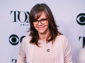 The Glass Menagerie Tony nominee Sally Field has arrived.