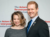Come From Away's Tony-nominated songwriters Irene Sankoff and David Hein have arrived.