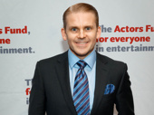 Cagney star Robert Creighton hits the red carpet.