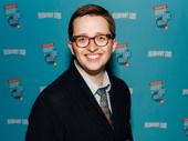 Dear Evan Hansen's Will Roland poses with his BACA for Favorite Funny Performance.