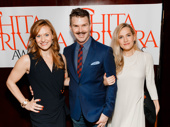 Holiday Inn reunion! Megan Sikora, choreographer Denis Jones and Lora Lee Gayer are all nominated for Chita Rivera awards.