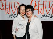 Tony winner Bebe Neuwirth gets together with Broadway legend Chita Rivera.