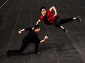 Jason Sermonia and Julian DeGuzman