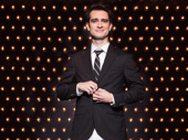 Brendon Urie as Charlie Price in Kinky Boots.