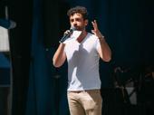 Falsettos Tony nominee Brandon Uranowitz takes the stage.