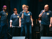 Tony nominee Jenn Colella and the cast of Come From Away perform.