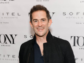Bandstand's Tony-nominated choreographer Andy Blankenbuehler is on the scene.
