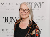 Present Laughter's Tony-nominated costume designer Susan Hilferty hits the red carpet.