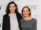 A Doll's House, Part 2's Tony-nominated scribe Lucas Hnath and Tony nominee Laurie Metcalf get together.