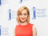 Theatre World Award winner Erin Davie works it.