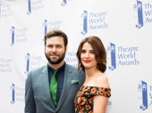 Aww! Stage and screen fave Taran Killam steps out to support his wife and fellow stage and screen star Cobie Smulders on her Theatre World Award. Congrats to all of this year's winners!