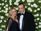 Chazz Palminteri and Gianna Ranaudo