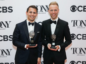 Dear Evan Hansen music makers Benj Pasek and Justin Paul won the award for Best Score.