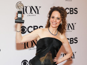 Indecent director Rebecca Taichman won the Tony for Best Direction of a Play.