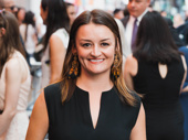 Alison Wright, recently seen on Broadway in Sweat, steps out for opening night of Marvin's Room.