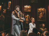 Congrats, Okieriete Onaodowan! Oak takes his first bespectacled bow in The Great Comet.