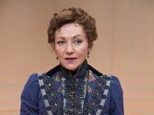 Julie White as Nora in A Doll's House, Part 2.