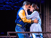 Tony Yazbeck and Kaley Ann Voorhees in Prince of Broadway