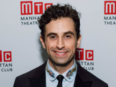 Prince of Broadway's Brandon Uranowitz strikes a pose.
