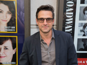 Raúl Esparza, who received a 2007 Tony nomination for his performance in Company, suits up for Prince of Broadway.
