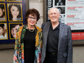 Original Sweeney Todd Len Cariou and Heather Summerhayes attend the opening night of Prince of Broadway.
