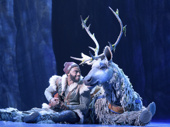 Jelani Alladin as Kristoff and Andrew Pirozzi as Sven in Frozen