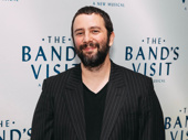 The Band's Visit scribe Itamar Moses has arrived.