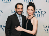 The Band's Visit stars Tony Shalhoub and Katrina Lenk get together.