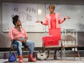 Lauren F. Walker as Victoria and Sandra Caldwell as Mama in Charm.