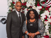 Stage and screen couple Samuel L. Jackson and LaTanya Richardson Jackson attend the American Theatre Wing's annual gala.