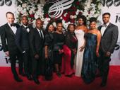 The Lion King's cast looks fabulous: Stephen Carlile, Jelani Remy, Bongi Duma, Ruthlyn Salomons, Lindiwe Dlamini, Tshidi Manye, Adrienne Walker, Bonita Hamilton and L. Steven Taylor.