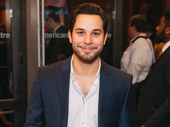 Stage and screen fave Skylar Astin steps out to support his wife Anna Camp in Time and the Conways.