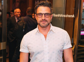 Four-time Tony nominee Raúl Esparza looks sharp.