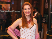 Broadway's Rachel York strikes a pose.