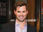 Stage and screen star Andrew Rannells is ready for a Broadway opening.