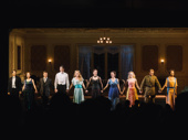 Time and the Conways' Broadway company takes their opening night curtain call.