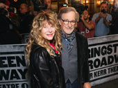 Film icon Steven Spielberg and his wife Kate Capshaw enjoy opening night of Springsteen on Broadway.