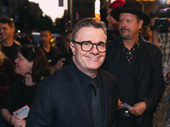 Tony winner Nathan Lane attends opening night of Springsteen on Broadway.
